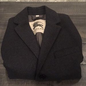 Men's Burberry tailored Wool Coat Gray size 40